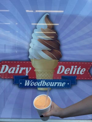 Dairy Delite in Levittown has fruity milkshakes perfect for summer.