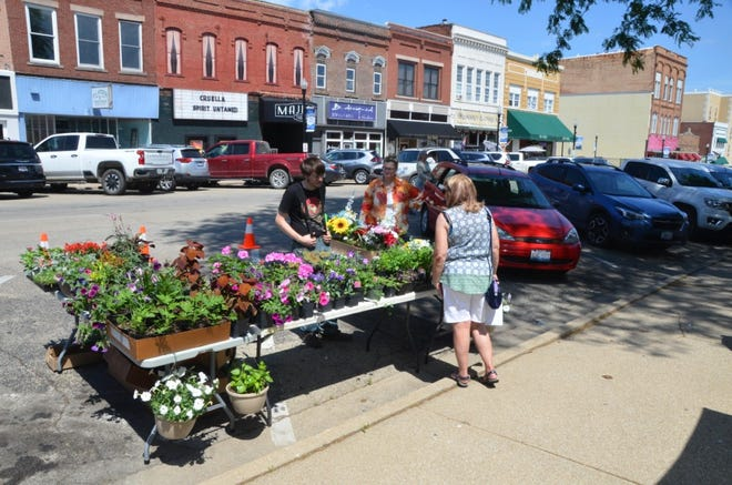 Canton Farmers' Market has a variety of items for sale each Saturday in Jones Park.