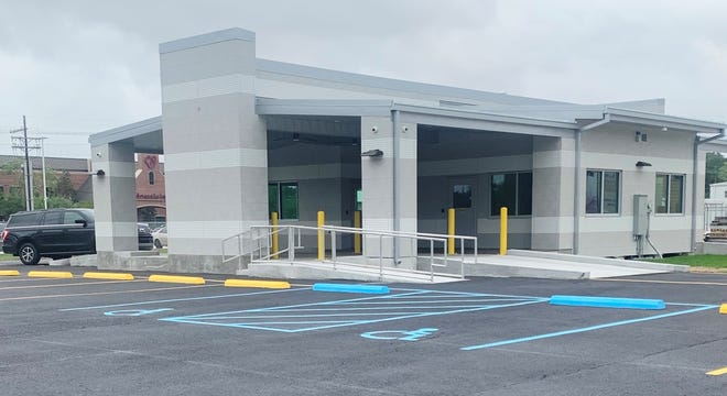 Terrebonne General's new Drive-Thru Center is at 8200 Main St., at itsintersection with Liberty Street.