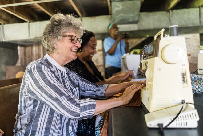 The Bayou Sewing Sisters are working to revitalize quilting and build community in the local area.
