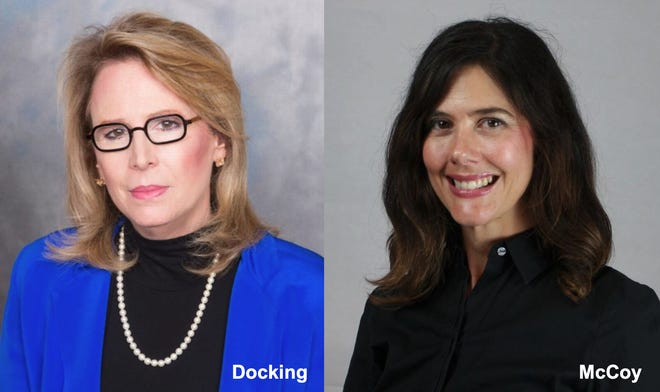 Melissa McCoy, of Dodge City, pictured right, recently was named as a new Kansas Health Foundation Board member, along with Jill Docking, of Wichita.