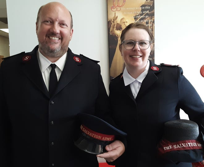 Majors Ray and Whitney Morton have taken over leadership of the Davidson County Salvation Army