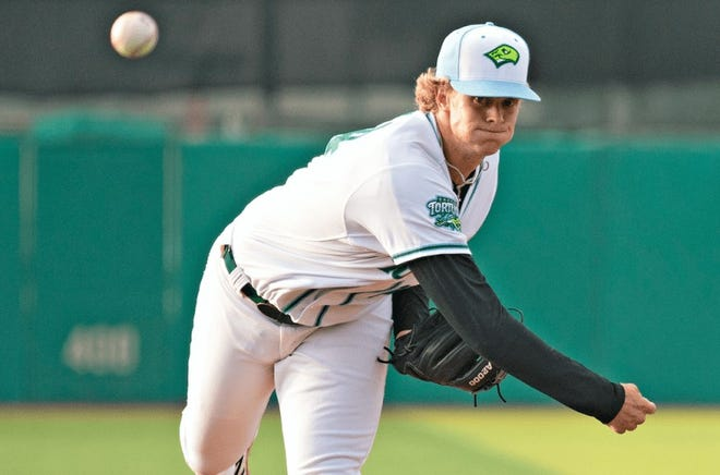 Case Williams went five innings in his best outing of the season.