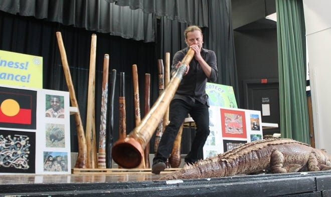 """Say """"Good Day mate!"""" and take a trip to the land Down Under with Dover Public Library's virtual program Didgeridoo Down Under on Wednesday, July 14 at 6:30 p.m."""