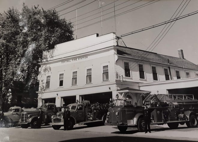 The Central Fire Station was located on Pleasant Street in Somersworth and served the city from 1858 to 1978.