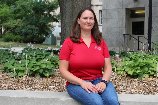 Alexis Stevens is a new farm management specialist with Iowa State University Extension and Outreach.