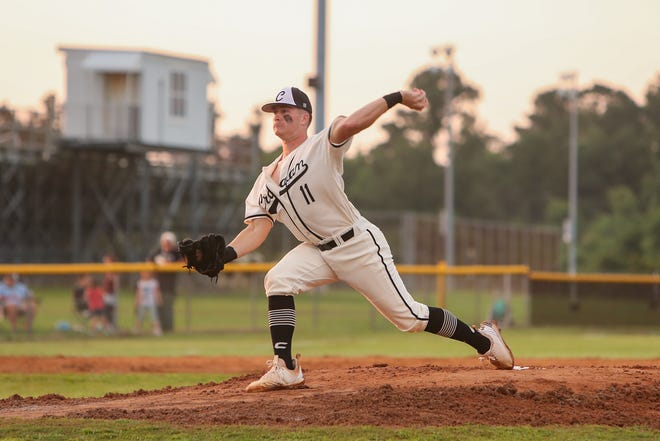 Croatan's Ryan Bellamy is The Daily News Area Baseball Player of the Year for 2021. [Tina Brooks / The Daily News]