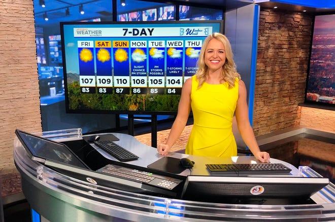 Former WMBD/WYZZ television meteorologist Lauren Rainson began work this week at KPHO/KTVK in Phoenix.