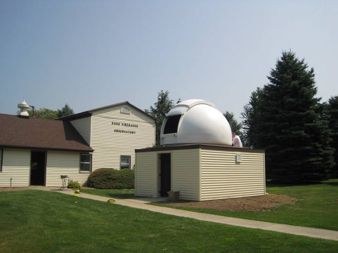 The Doug Firebaugh Observatory, 2892 W. Stephenson St., Freeport, will hold an open house and special opening event from 6 to 11 p.m. July 3.