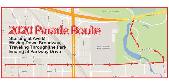 The 4th on Broadway Sonic Parade is set to begin at 9 a.m. Saturday in downtown Lubbock.