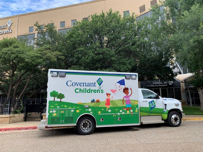 Covenant Children's unveiled its new children's ambulance Wednesday.