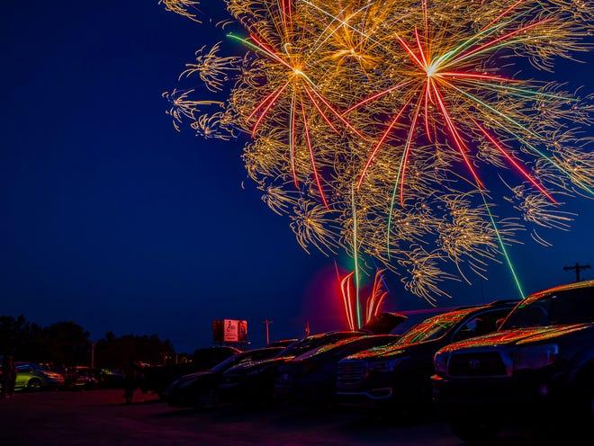 Fireworks raise insurance questions.