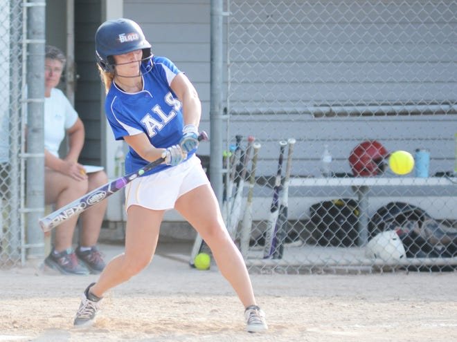 Kelsey Hubbard and ALS put an end to a recent hot streak by the Bomb Squad.