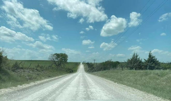 A dusty road in Stafford County received attention during the Stafford County commission meeting.