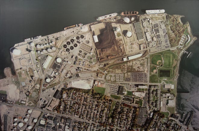 An aerial view of ProvPort facilities.