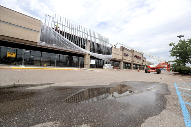 Work was ongoing earlier this week at the site of a new Five Below store, which is preparing to open in the Walmart plaza at Massillon Marketplace. The new store is to be located between Marshalls and the Shoe Dept.