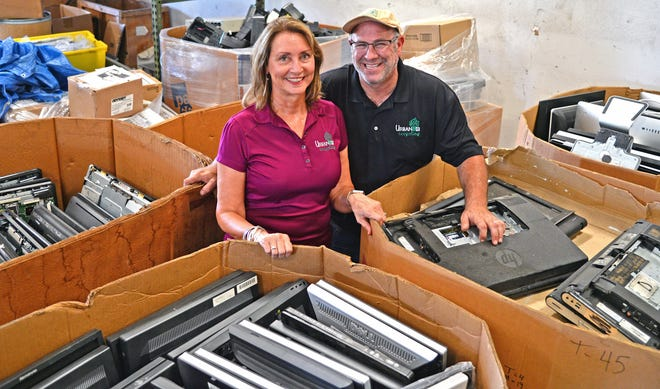 Urban E Recycling has various locations including one in Bradenton at 6102 24th St. E. Owners Dell and Greg Rabinowitz take in old and/or obsolete electronic devices. They shred hard drives and extract precious metals, keeping more hazardous waste out of landfills.