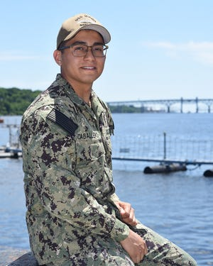 Petty Officer 2nd Class Enrique Caballero is a 2018 Palmetto High School graduate.