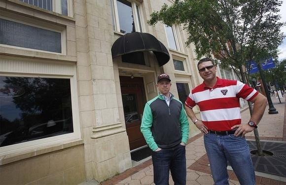 Dustin Canestorp and Buddy Bengel opened Beer Army Gastrohub in 2015 at 313 Pollock Street