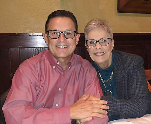 The Rev. Mark Williams and his wife, Pam