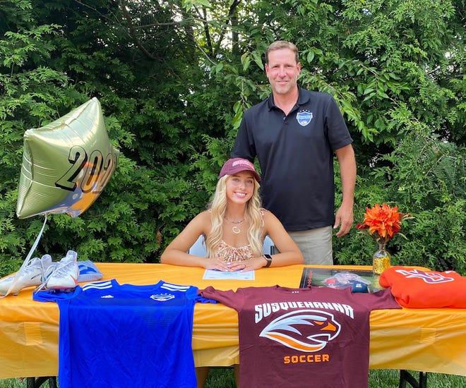 Camryn Kelly commits to play soccer at Susquehanna University.