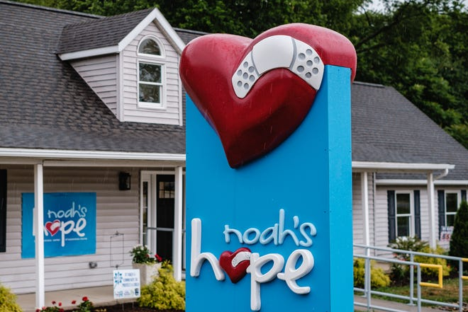 Noah's Hope Child Advocacy Center is in New Philadelphia. TIMES-REPORTER/ANDREW DOLPH