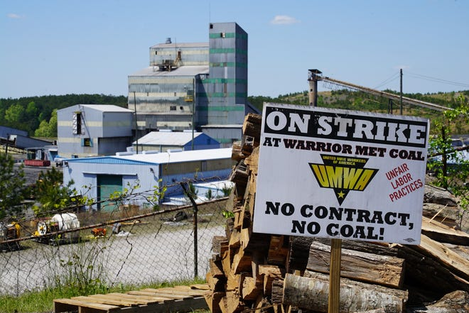 The strike against Warrior Met Coal began April 1. On Thursday, it entered its fourth month.