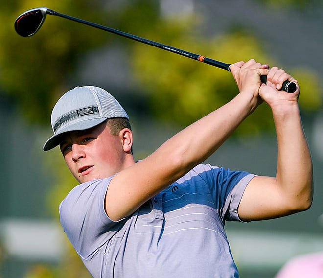 Kaden Rylance of Watertown completed play Wednesday in the 2021 National High School Golf Inviational at the Pinehurst (N.C.) Golf Resort. Rylance, who will be a freshman at Watertown High School this fall, was one of eight South Dakota golfers who competed, He completed the three-day event with a score of 29-over 245 (79-87-79), placing 151st out of more than 325 golfers in the event.