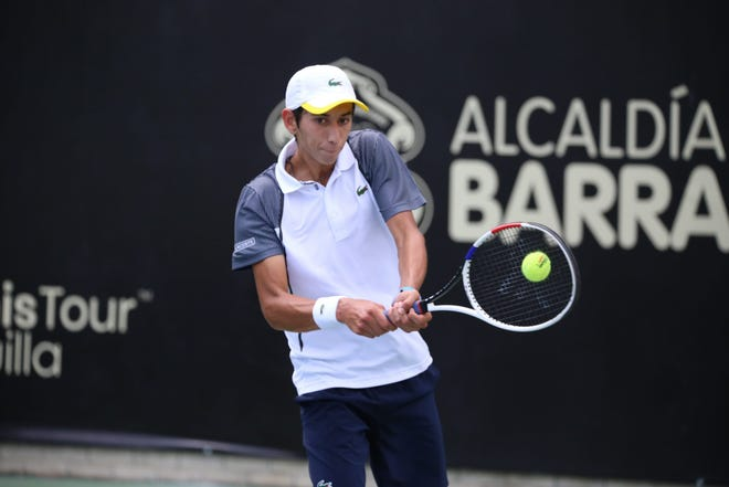 Okemos tennis player Ozan Colak competed in Boys' Singles and Doubles at Wimbledon earlier this month, advancing to the third round in singles play.
