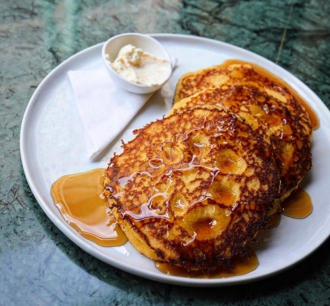 Johnnycakes are on the brunch menu at Fool's Errand, 316 N. Milwaukee St.