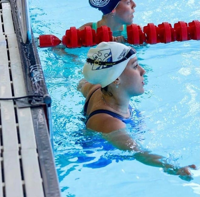 Future Aggie swimmer Lina Khiyara qualified for the Tokyo Olympics where she will represent her home nation of Morocco.