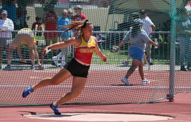 Centennial senior Lia Pili won state titles in the discus and shot put and was named the state's Track and Field Gatorade Player of the Year.