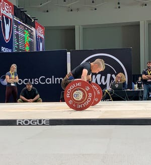 In nearly two years of Olympic weightlifting, Logan Lockwood has broken Michigan state and national records in the snatch and clean-and-jerk lifts.
