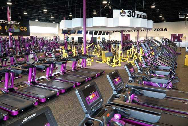 Inside Bloomfield Hills' South Telegraph Planet Fitness.