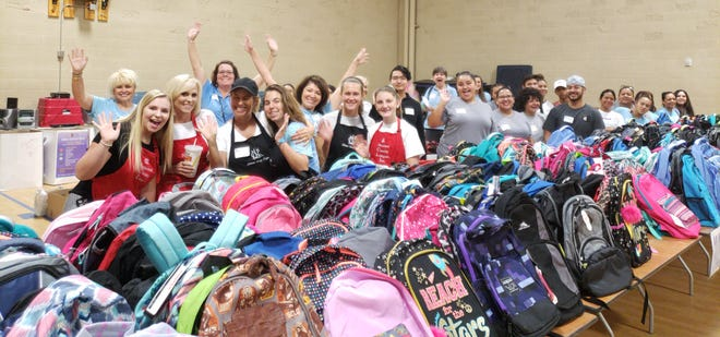 The Coachella Valley Rescue Mission has been hosting the Backpack Bonanza program for 15 years.