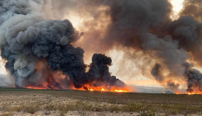 The Bottom Fire near Bylas has grown 3,000 acres since it started on Monday.
