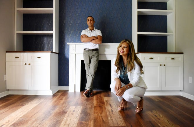 Peter and Susana Cerwinski renovated a house in Springlake.