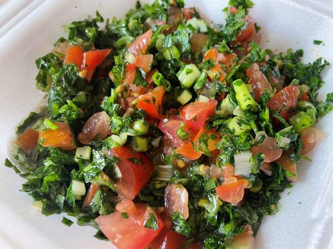 Tabbouleh salad at Kabab King in Sioux Falls