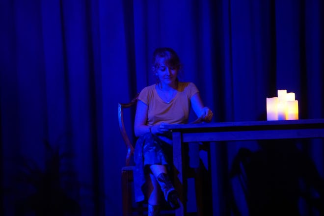 """ShenanArts theater and Staunton Pride hosted their first storytelling event, """"Our Queer Voices,"""" on Tuesday evening."""