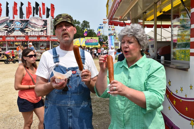 The upcoming July 13 performance at the Paramount Theatre is a production of Ole and Lena at the State Fair.