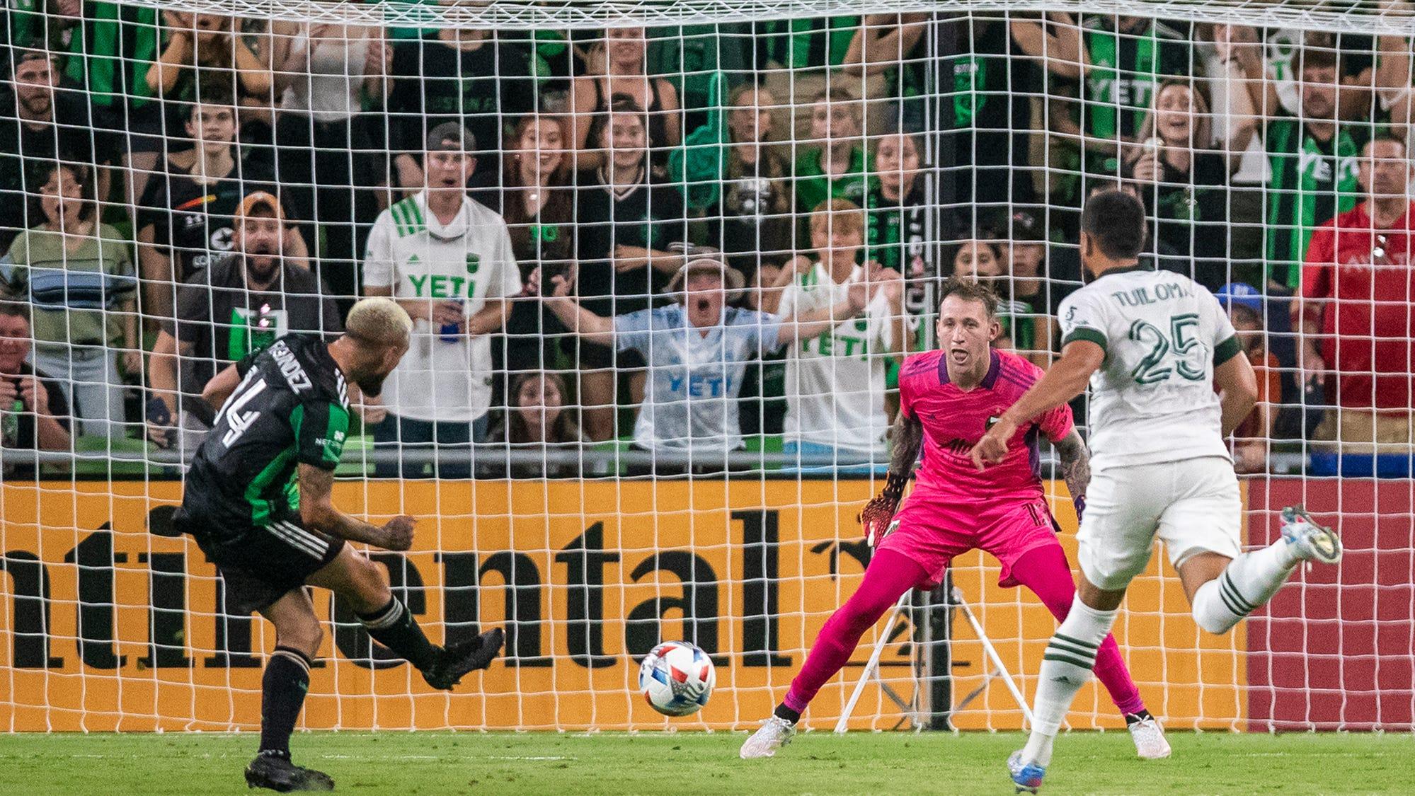 Live blog: Austin FC defeats Portland Timbers 4-1 at Q2 Stadium