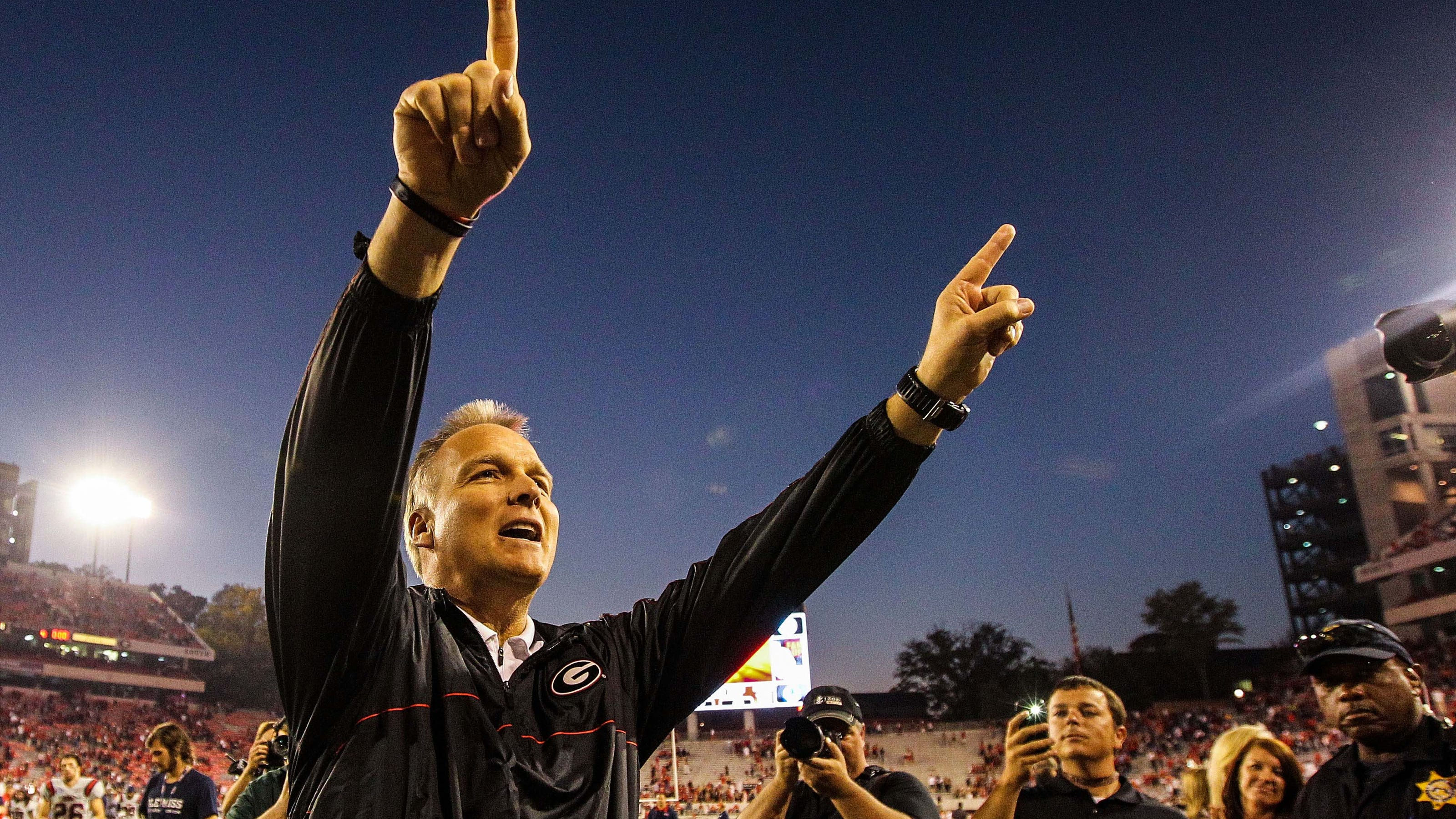 Former UGA football coach Mark Richt diagnosed with Parkinson's Disease