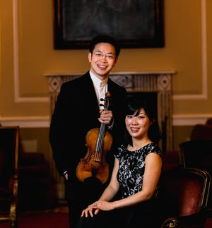 Violinist Paul Huang and pianist Helen Huang will open Kent Blossom Music Festival's live faculty concert series July 14 at Kent State University's Ludwig Recital Hall.
