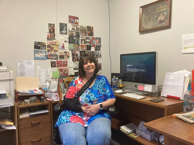 Linda Hicks, owner and publisher of the Lone Grove Ledger, plans to sell or close the weekly newspaper by the end of the month.
