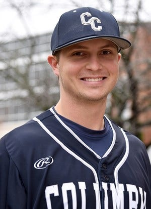 Columbia College sophomore Kole Ficken was recently selected as a Baseball Gold Glove Award winner in the American Midwest Conference for the 2021 season.