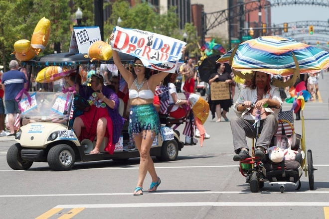 Get ready for a fun-filled time at the Doo Dah Parade.