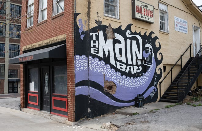 The Main Bar, a longtime icon along Main Street downtown with its notable mural