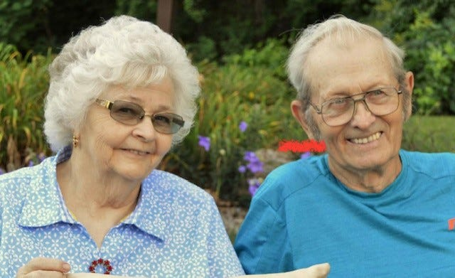Faye and Richard Hayes