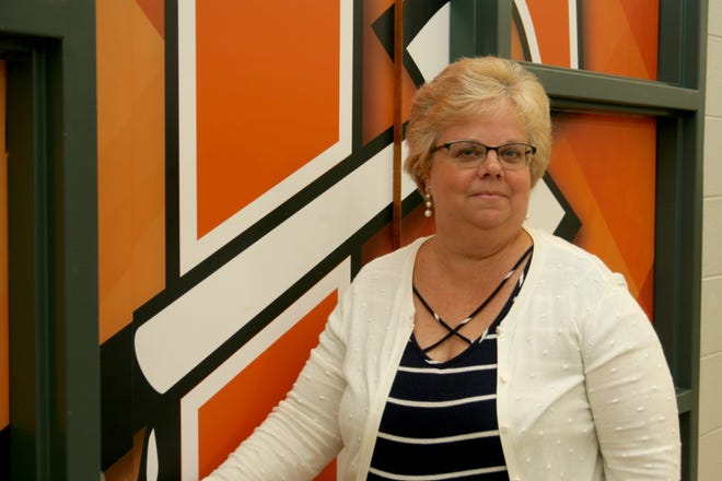 Teri Hoeft is retiring from the Tecumseh schools after working as the executive assistant to 14 superintendents in 35 years.