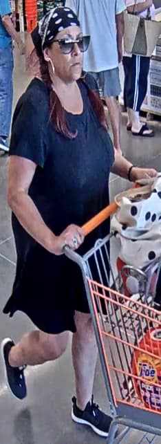 This surveillance image was released from the Home Depot incident.